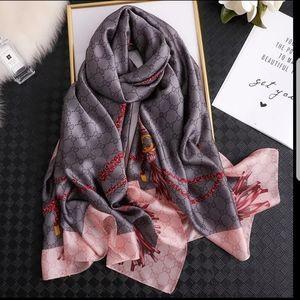 Summer Silk fashion scarf